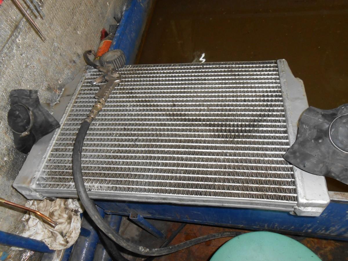 Ремонт радиатора своими руками видео